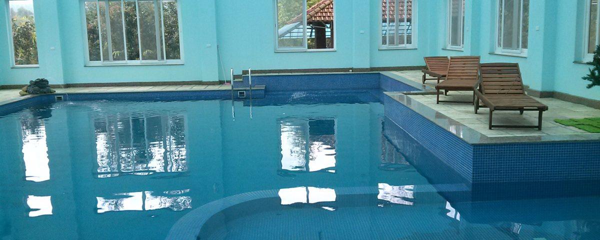 Dự án lắp máy ozone xử lý nước trong bể bơi tại trung tâm đào tạo Vietel Hoài Đức 1