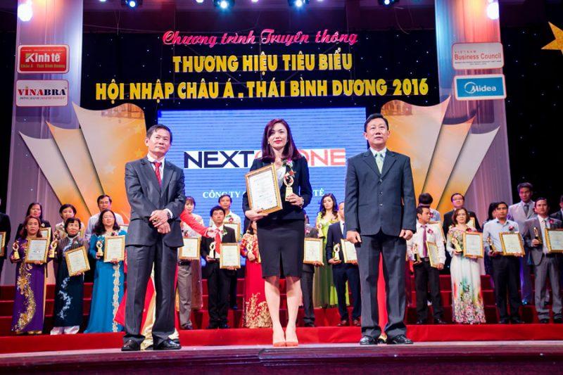 Nextozone đã đạt thương hiệu tiêu biểu hội nhập châu Á-Thái Bình Dương năm 2016