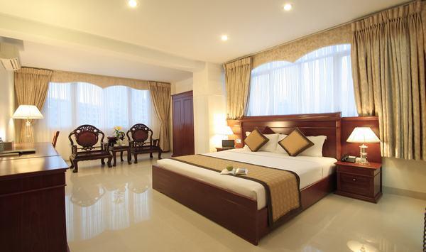 Không khí trong lành giúp khách sạn chiếm được cảm tình của khách hàng