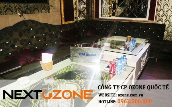 Máy khử mùi ozone tại quán karaoke