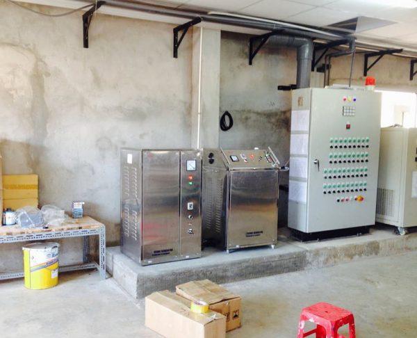 Lắp đặt máy ozone xử lý nước cho Công ty Tôm Giống Unipresident