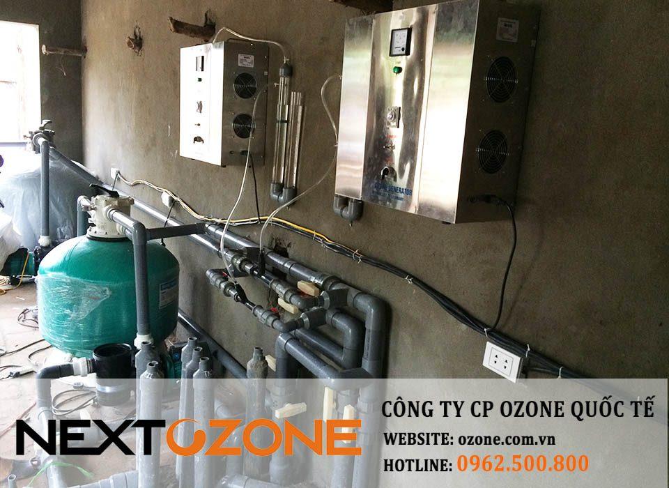 may ozone 10g xu ly nuoc be boi 1-min