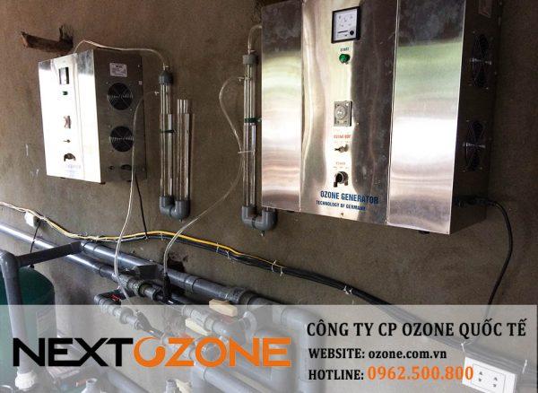 Máy ozone xử lý nước bể bơi tỉnh Vĩnh Phúc