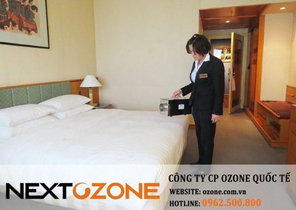 Máy khử mùi ozone tại khách sạn Melia