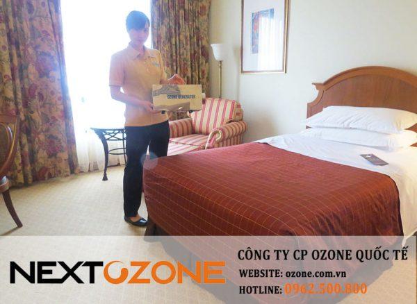 Máy khử mùi ozone tại khách sạn Sheraton