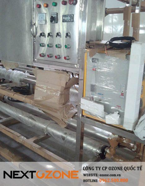 Máy ozone - tiệt trùng nước trong hệ thống xử lý nước tinh khiết