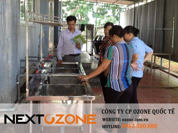 Máy Ozone công nghiệp xử lý nước